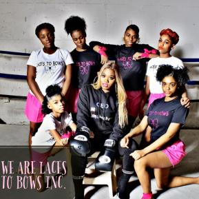 laces to bows boxing shoot
